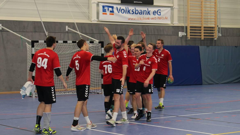 Spielbericht Landesliga Männer: <br> HSG Rhumetal II – SG 1.Herren 18:36 (5:21)